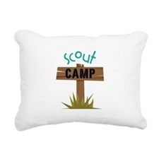 Scout CAMP Rectangular Canvas Pillow