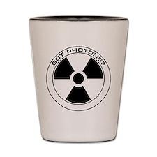 RAD BLK Got Photons? Shot Glass