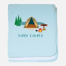 HAPPY CAMPER baby blanket