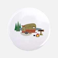 "Camping Trailer 3.5"" Button"