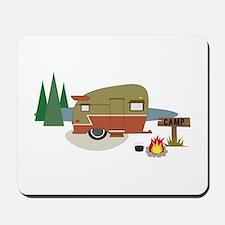 Camping Trailer Mousepad
