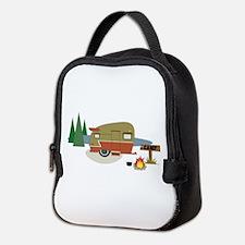 Camping Trailer Neoprene Lunch Bag