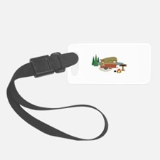 Camping Trailer Luggage Tag