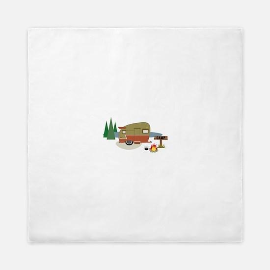 Camping Trailer Queen Duvet