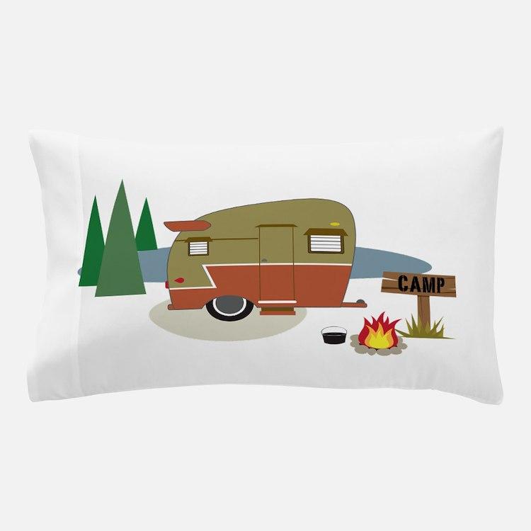 Camping Trailer Pillow Case