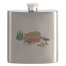 Camping Trailer Flask