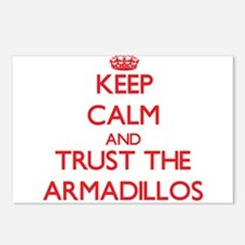 Keep calm and Trust the Armadillos Postcards (Pack