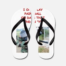 paintball Flip Flops