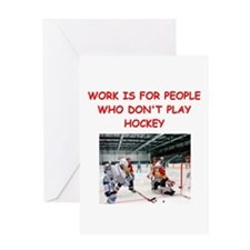 HOCKEY Greeting Cards