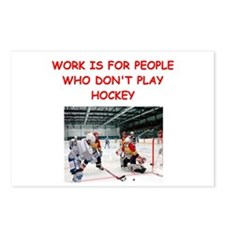 HOCKEY Postcards (Package of 8)