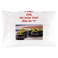 CURLING3 Pillow Case