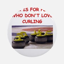 CURLING2 Ornament (Round)