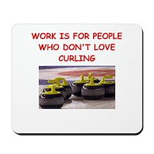 CURLING2 Mousepad