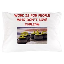 CURLING2 Pillow Case