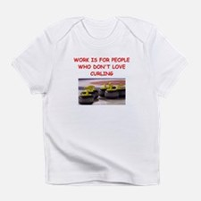 CURLING2 Infant T-Shirt