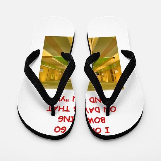 BOWLING3 Flip Flops