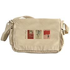 Words & Things Vintage Lenin Messenger Bag