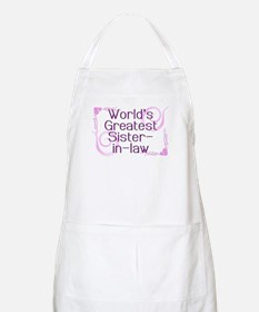 World's Greatest Sister-in-Law BBQ Apron