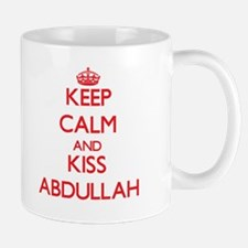 Keep Calm and Kiss Abdullah Mugs