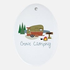 GONe camping Ornament (Oval)