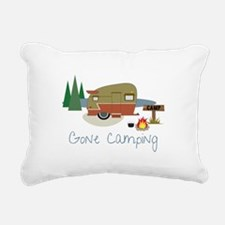 GONe camping Rectangular Canvas Pillow