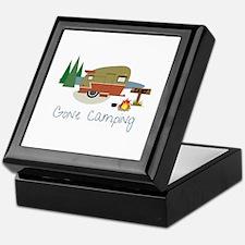 GONe camping Keepsake Box