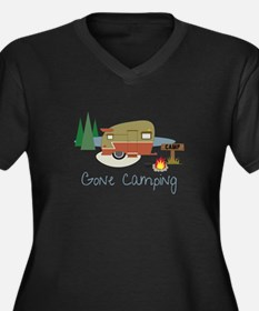 GONe camping Plus Size T-Shirt