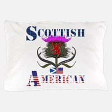 Scottish American Thistle Pillow Case