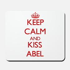 Keep Calm and Kiss Abel Mousepad