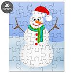 Santa Snowman Puzzle