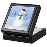 Santa Snowman Keepsake Box