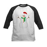 Santa Snowman Baseball Jersey
