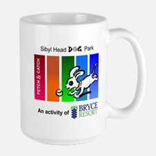 Sibyl Head Dog Park Mugs