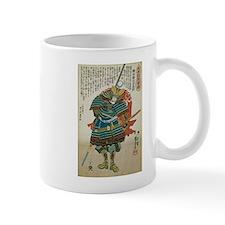 Samurai Morimoto Gidayu Hidetora Mug