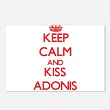 Keep Calm and Kiss Adonis Postcards (Package of 8)