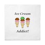 Ice Cream Addict Queen Duvet