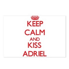 Keep Calm and Kiss Adriel Postcards (Package of 8)