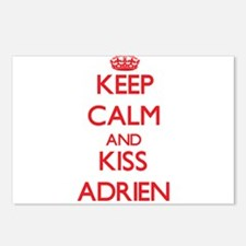 Keep Calm and Kiss Adrien Postcards (Package of 8)