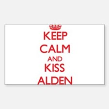 Keep Calm and Kiss Alden Decal