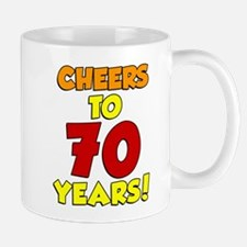 Cheers To 70 Years Drinkware Mugs