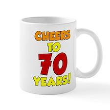 Cheers To 70 Years Drinkware Mugs