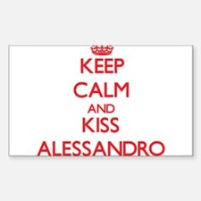Keep Calm and Kiss Alessandro Decal