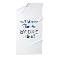 Theatre Love So Much Beach Towel