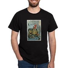 Samurai Saito Toshimitsu nyudo Ryuhon T-Shirt