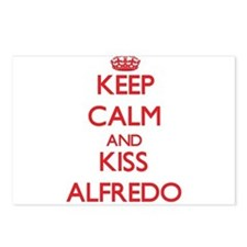 Keep Calm and Kiss Alfredo Postcards (Package of 8