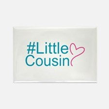 Hashtag Little Cousin Rectangle Magnet (10 pack)