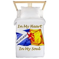 Scotland Heart And Soul Twin Duvet