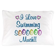 Swimming Love So Much Pillow Case