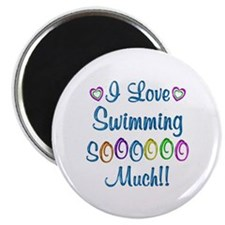 Swimming Love So Much Magnet