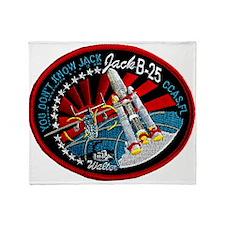 NROL-6 Launch Team Throw Blanket